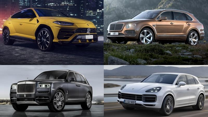 The Worlds Best Super SUVs