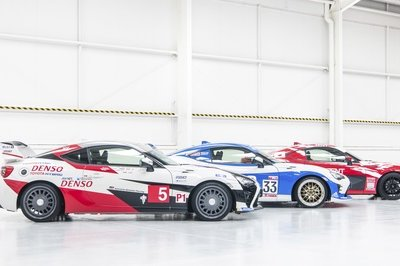 Toyota Celebrates 86 Years of Le Mans By Dressing Up Its GT86 Models