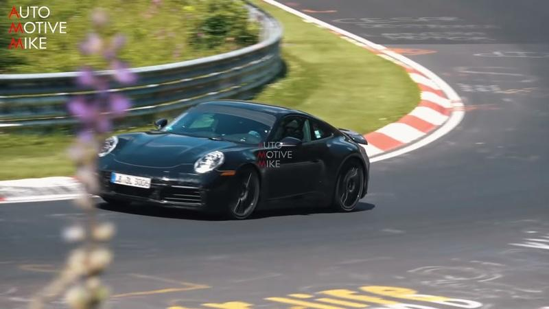 Video of the Day: 2019 Porsche 911 Carrera 4S on the Nurburgring