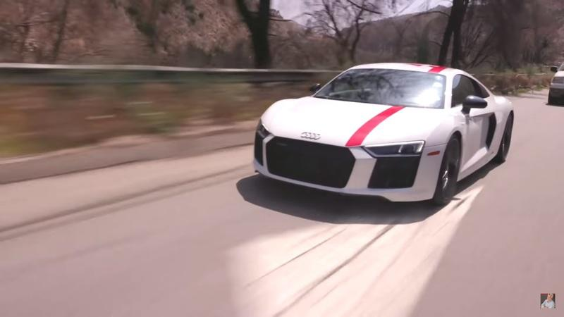 Video of the Day: Jay Lenos Garage: Audi R8 V10 RWS