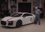 Video of the Day: Jay Lenos Garage: Audi R8 V10 RWS - image 785476