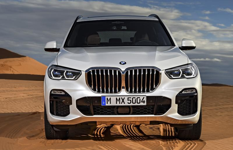 Visual Comparison: 2017 BMW X5 vs 2019 BMW X5