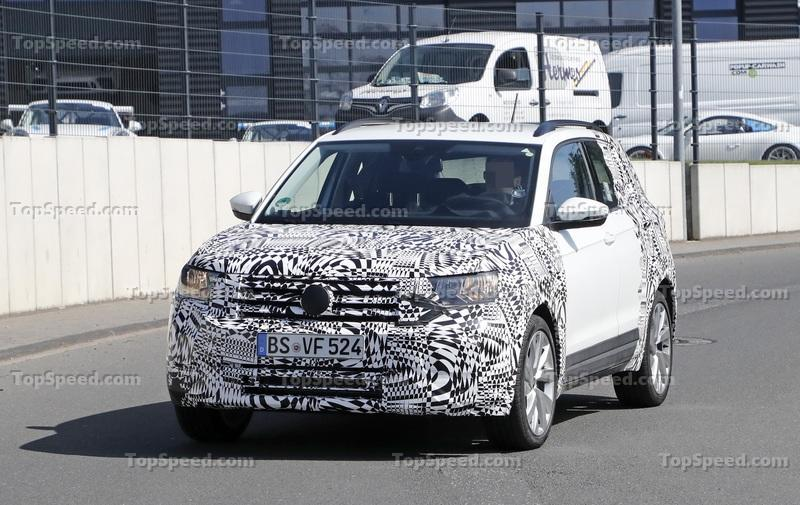 First Glimpse Of The New Volkswagen T-Cross