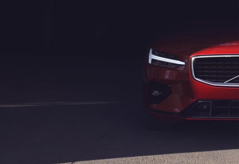 One More Teaser for the Volvo S60 Before Tomorrow's Big Debut