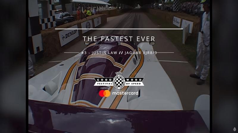 Watch The 10 Fastest Runs Ever At the Goodwood Festival Of Speed: Video