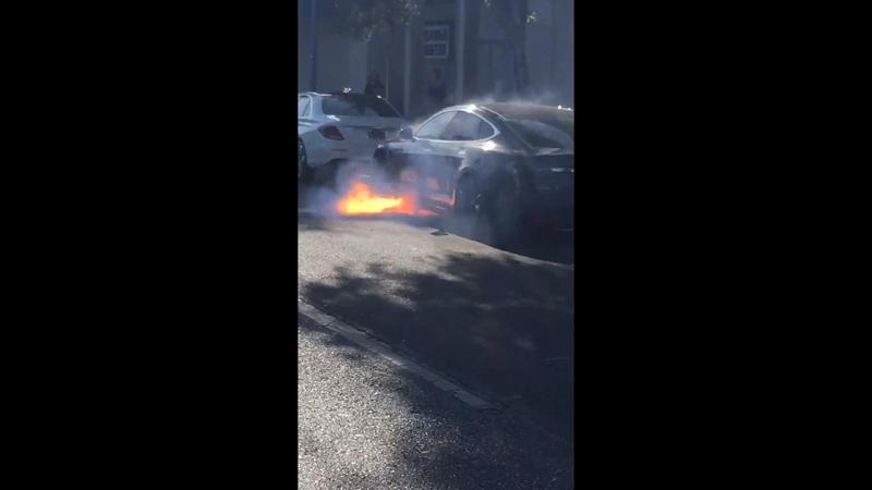 West Wing Actress Not Happy With Tesla After her Husband's Model S Catches on Fire