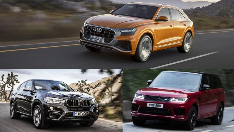 Which is Better: The Audi Q8, The BMW X6, or The Range Rover Sport?