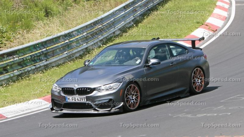 Why Did we Just Spy the BMW M4 GTS on the Nurburgring?