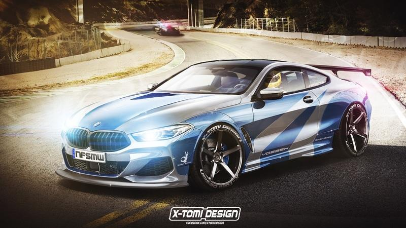 Xtomi Renders the 8 Series as a Cabrio, Pickup, Shooting Brake, and NFS Most Wanted Street Racer - image 783912