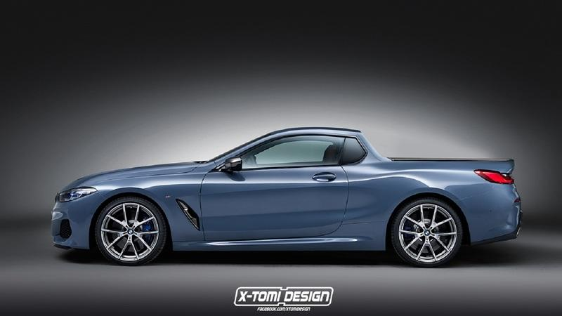 Xtomi Renders the 8 Series as a Cabrio, Pickup, Shooting Brake, and NFS Most Wanted Street Racer - image 783913