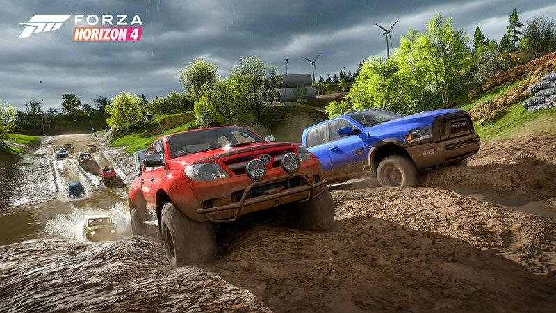 You're Not Going to Run Out of Cars to Drive in Forza Horizon 4