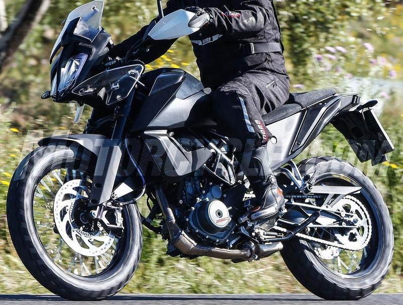 KTM's baby 390 Adventure will soon make an entry to the scene