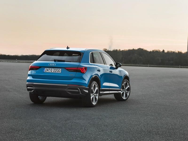 The Audi Q3 Looks the Same but is a Bit Larger With some Q8 DNA