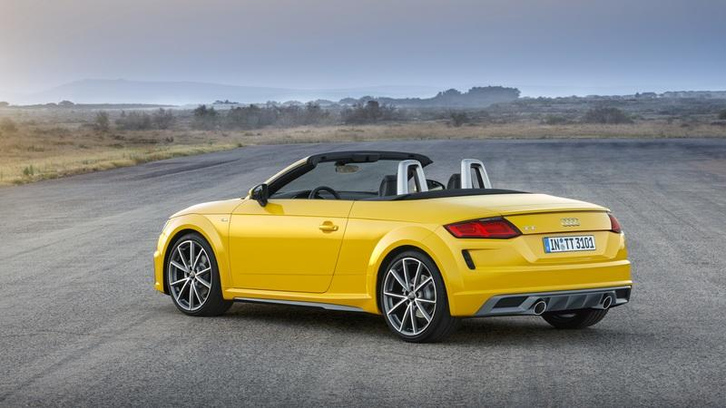 The 2019 Audi TT Is Fresher, Meaner, More Tech Savvy, and Quick-Tempered
