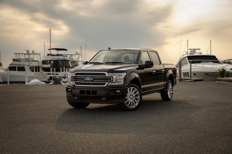 2019 Ford F-150 Limited Gets Plonked With Raptor's Engine