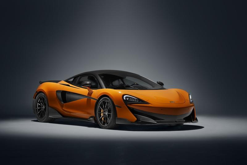 The McLaren 600LT Spyder is on the Books for 2019; Expected Debut at Paris Auto Show Exterior - image 786281