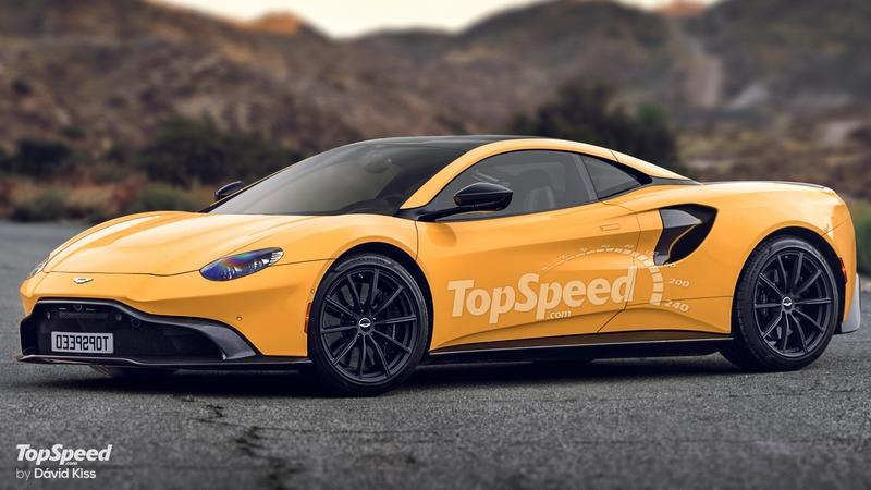 2020 Aston Martin Mid-Engined Supercar - image 785937