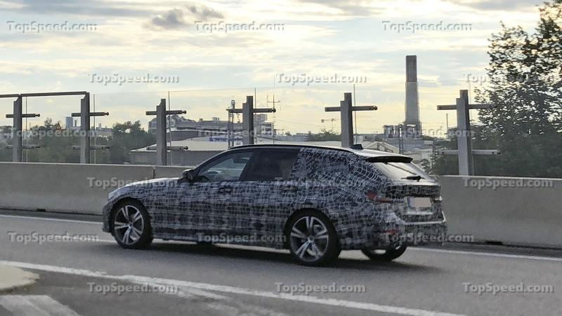 2020 BMW 3 Series Touring Spyshots - image 786370