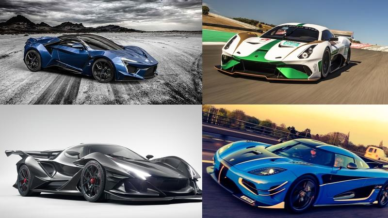 5 New Supercars Showing up at the Goodwood Festival of Speed