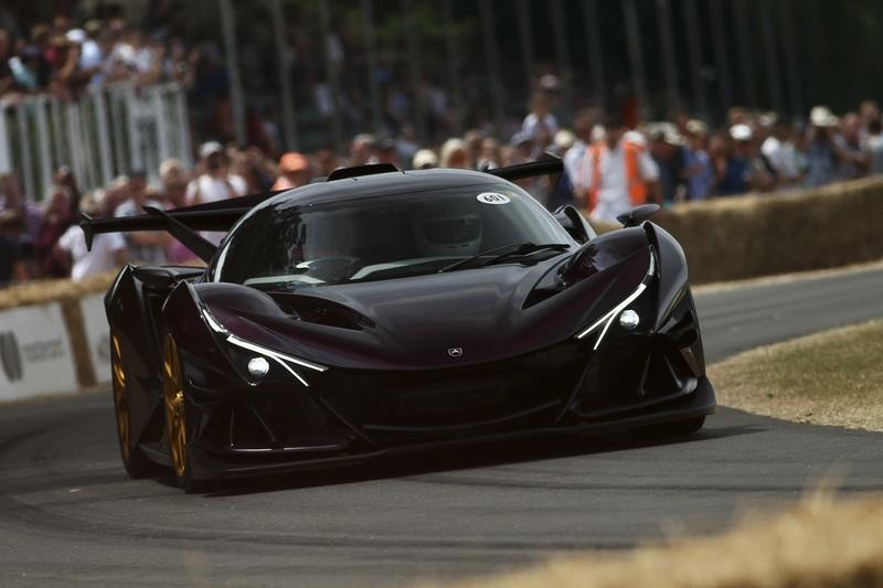 5 of the Weirdest Cars at the 2018 Goodwood Festival of Speed