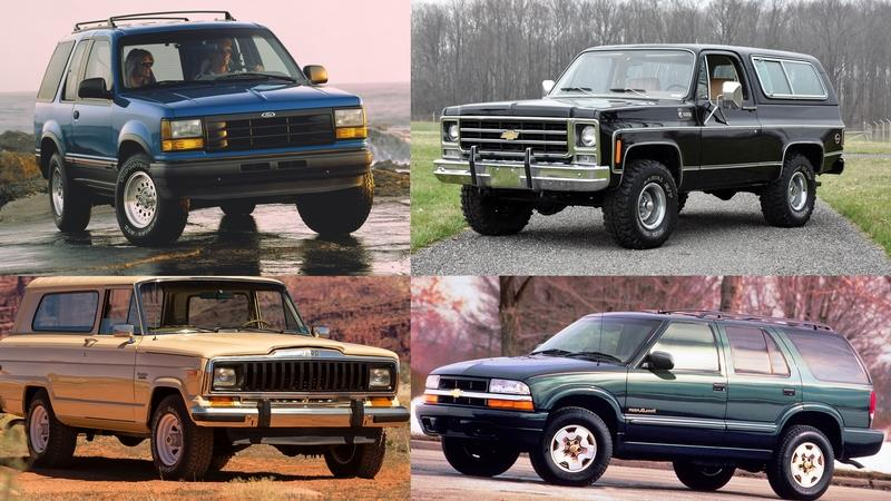 8 SUVs That Went From Being Tough as Nails to Lightweight Family Haulers