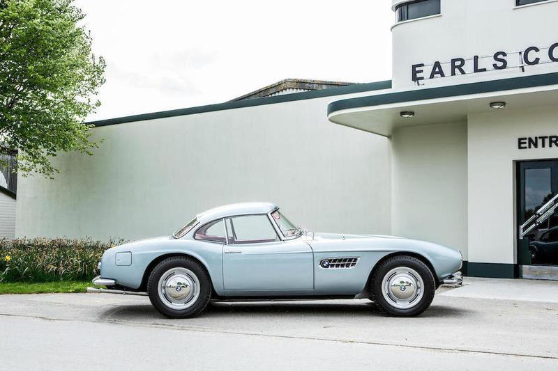 A BMW 507 Brought in More Than $5 Million at the 2018 Goodwood Auction!