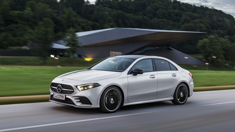 Aggressive Design Should Help The Mercedes A-Class Get Taken More Seriously