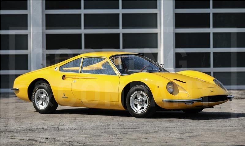 Amazing 1966 Ferrari Dino Berlinetta Prototype Heading to Pebble Beach Auction