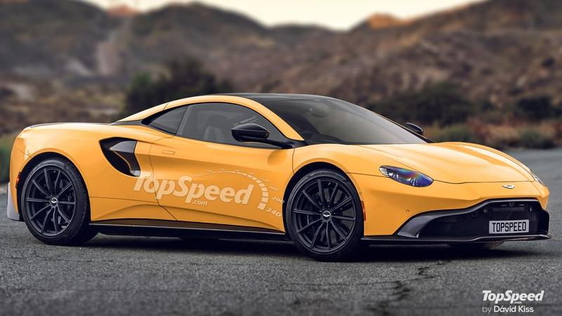 2020 Aston Martin Mid-Engined Supercar