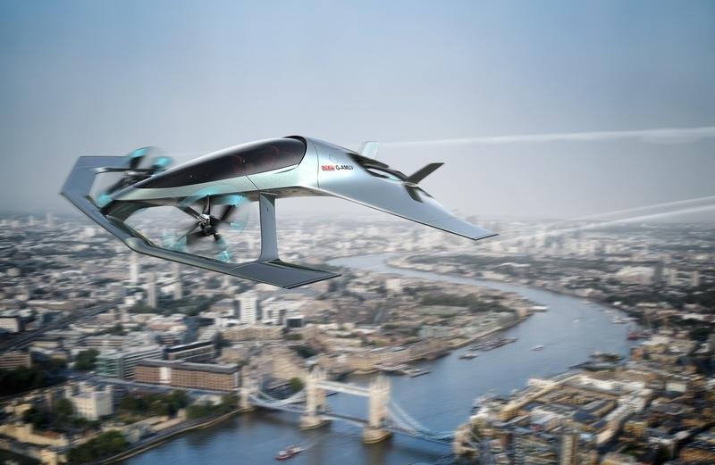 Aston Martin's Flying Taxi Looks Like Some Sci Fi Air Racer - image 786963