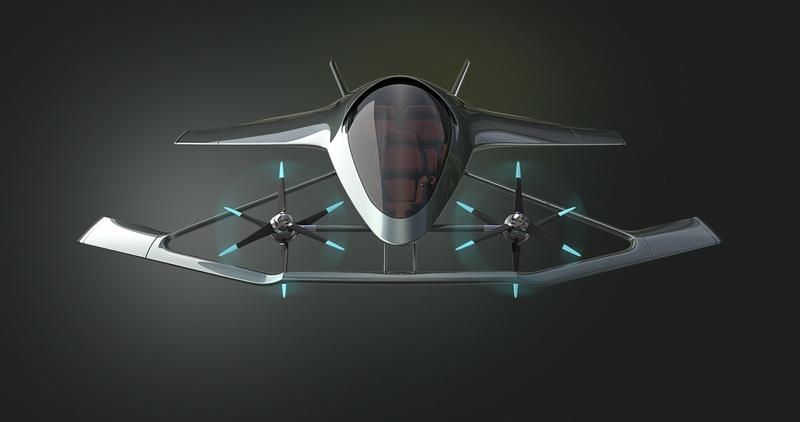Aston Martin's Flying Taxi Looks Like Some Sci Fi Air Racer - image 786951