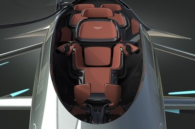 Aston Martin's Flying Taxi Looks Like Some Sci Fi Air Racer