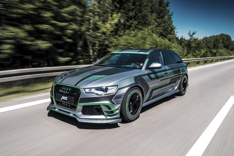 2018 Audi RS6-E Hybrid Concept by ABT