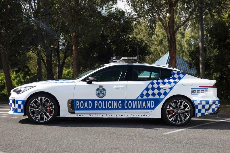 Australian Police Department to 'Sting' Speeding Drivers With The New Kia Sedans