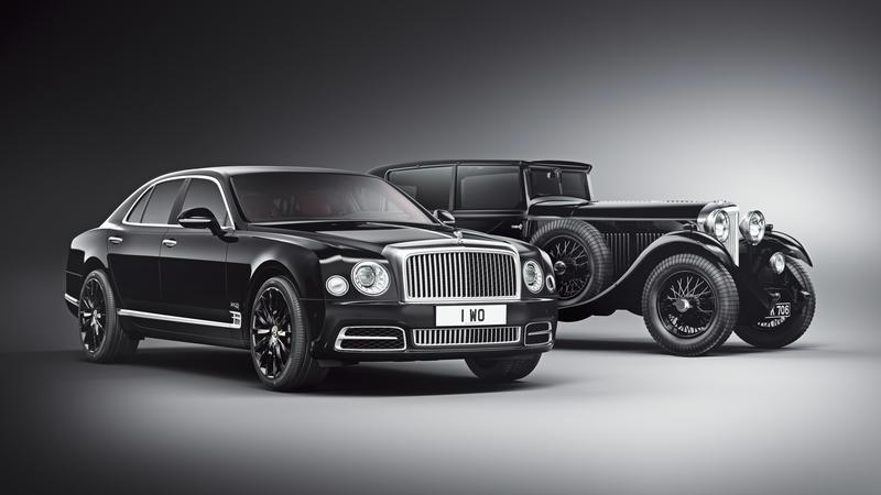2018 Bentley Mulsanne W.O. Edition by Mulliner