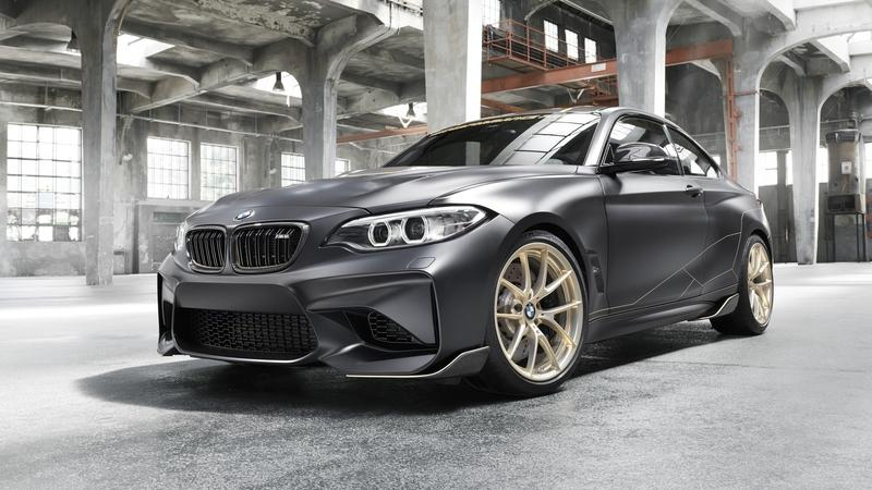 BMW M Performance Parts concept M2 Is Like A Throwback To The M3 CSL