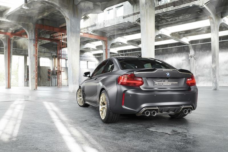 BMW M Performance Parts concept M2 Is Like A Throwback To The M3 CSL Exterior - image 786414