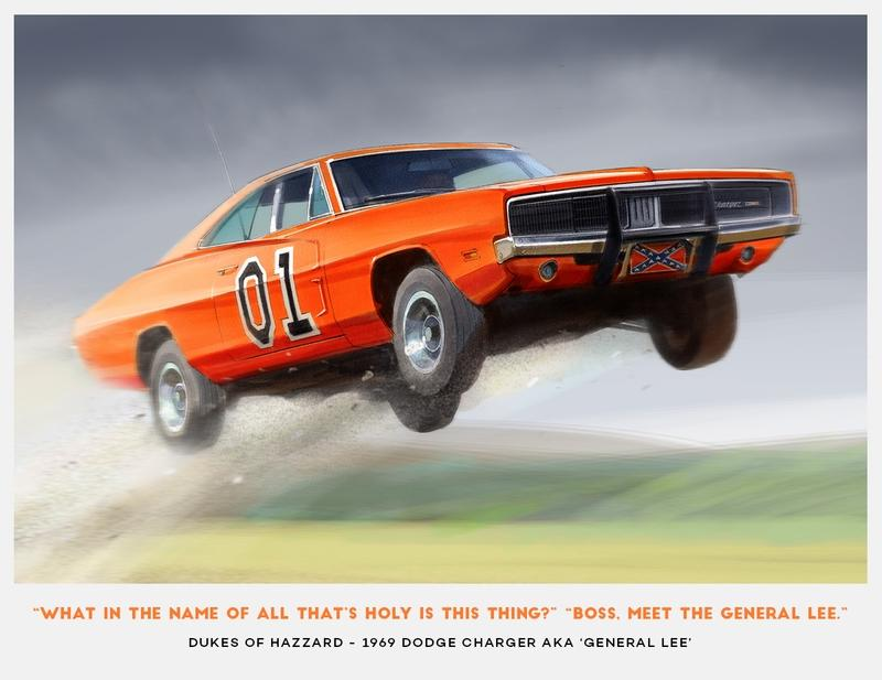 Budget Direct Renders 10 Cult Classic TV Show Cars - image 787237