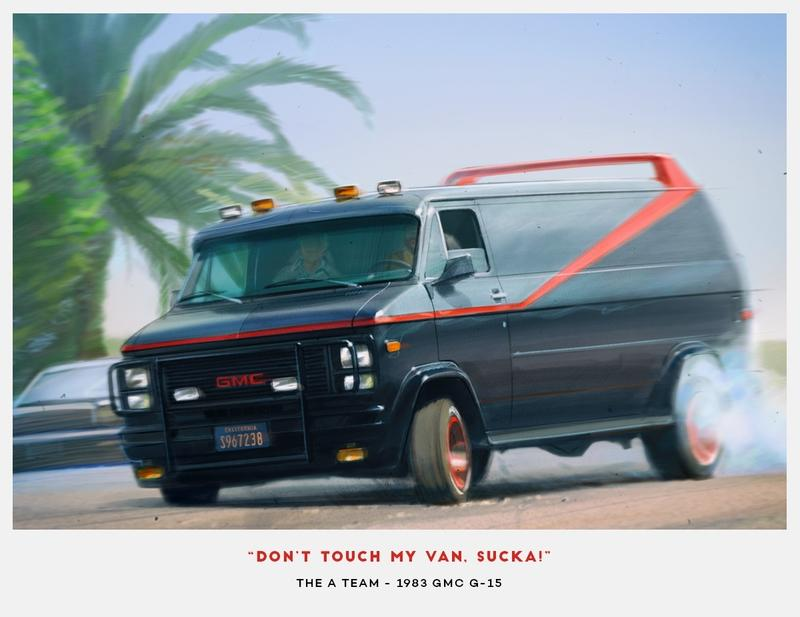 Budget Direct Renders 10 Cult Classic TV Show Cars - image 787238