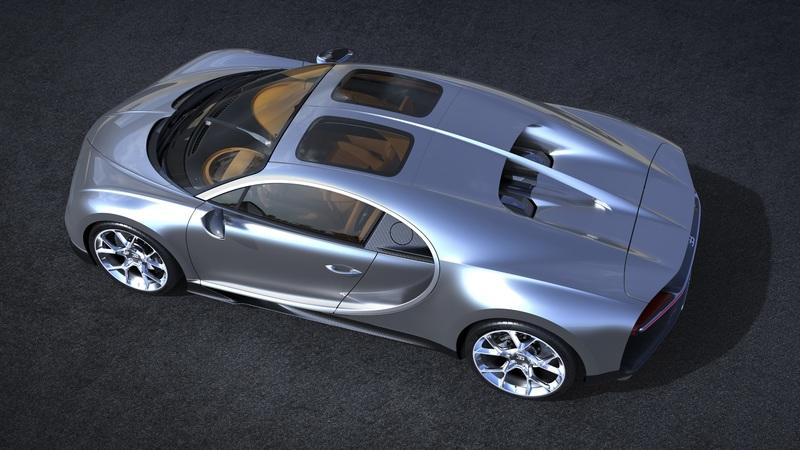 Bugatti Reinvents the T-Top Roof, Makes the Glass Permanent, Calls it Sky View