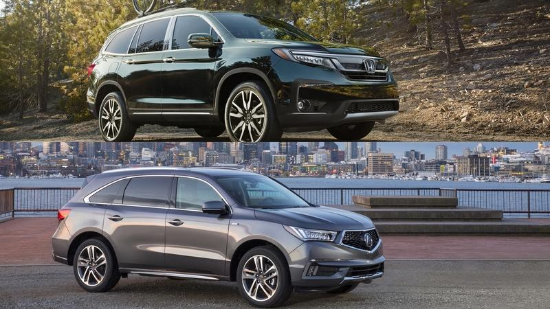 Buyers Guide: 2018 Acura MDX Vs. 2018 Honda Pilot
