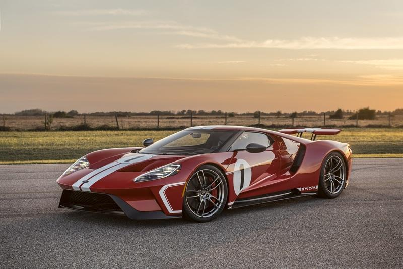 Celebrate The 4th of July With a Special Ride In The 2018 Ford GT Heritage Edition