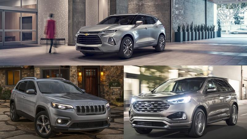 Comparing The Chevy Blazer, the Ford Edge, and the Jeep Cherokee