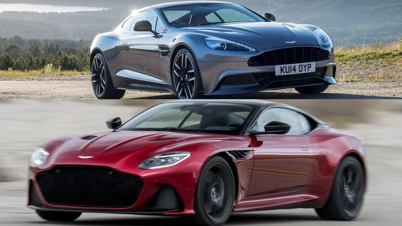 Comparison: 2019 Aston Martin DBS Superleggera vs. Aston Martin Vanquish