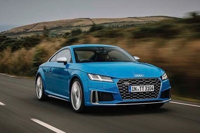 Facelift Audi TTS Revealed in Leaked Photos