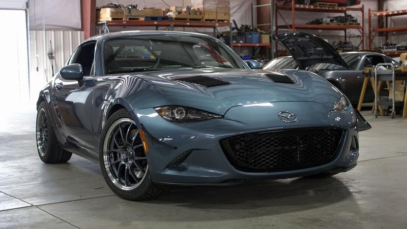 Flyin' Miata Offers a Roll Bar for the Miata RF but It Comes at a Cost