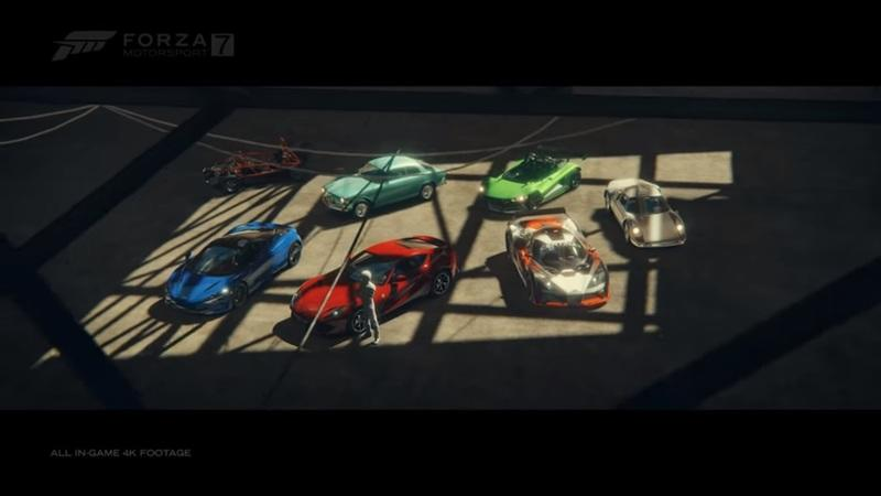 Forza Motorsport 7 Gets New Top Gear Car Pack
