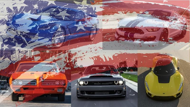 Fourth of July Special: TopSpeed's Top 5 Most 'Merican Sports Cars