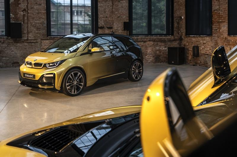 Golden BMW i3 And i8 Starlight Edition Revealed