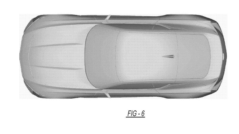 Gorgeous Cadillac Coupe Concept revealed in patent drawings